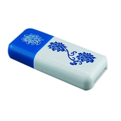 TF标准版读卡器 深蓝色青花瓷-(NJ)