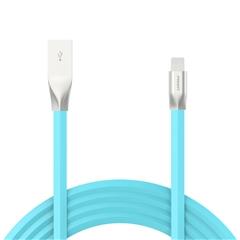 新版锌合金Lightning数据充电线(1200mm)(湖水蓝)纸质彩盒装-国内版CN