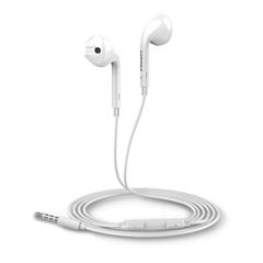 爱声半入耳式立体声有线耳机G601+(苹果白)PET盒装-国内版CN
