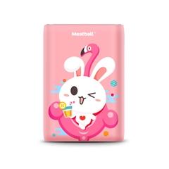 四喜丸子Ⅱ-兔团团(10000mAh)线上版(蜜桃粉)纸质彩盒装