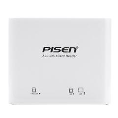 USB2.0三合一读卡器 苹果白-(NJ)