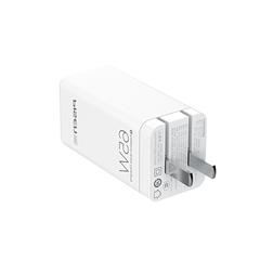 PISEN PRO-氮化镓快充充电器套装(GB65-R20)苹果白 纸质彩盒装-国内版CN(DZ)