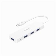 Type-C转4*USB3.0 HUB转换器0.15m苹果白纸质彩盒装-国内版CN(NJ)