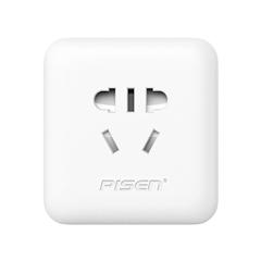 """品胜  转换插座双USB充电器(KU-12) <font color=""""red"""">苹果</font>白/彩盒装"""