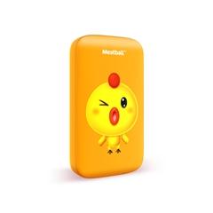 四喜丸子M1-雞咯咯5000mAh(Lightning自帶線)(活力橙)手工盒裝-國內版CN(網)