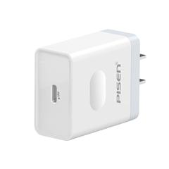 品胜-Type-C PD快速充电器(18W)(苹果白)PET盒装/纸质彩盒装-国内版CN