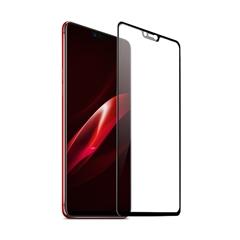 手机全屏覆盖精品防爆玻璃贴膜OP-R15(黑色)单片信封装-国内版CN