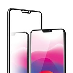 手机全屏覆盖精品防爆玻璃贴膜VO-X21(黑色)单片信封装-国内版CN