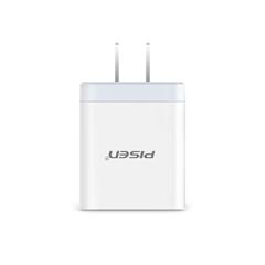 品胜-USB快速充电器(18W)(苹果白)PET盒装/纸质彩盒装-国内版CN