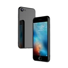 玻璃手机保护壳I7/I8(亮黑色)牛皮盒装-国内版CN