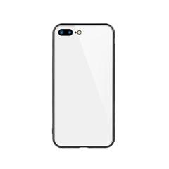 玻璃手机保护壳I7p/I8p(白色)牛皮盒装-国内版CN