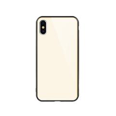 玻璃手机保护壳IX(香槟金)牛皮盒装-国内版CN