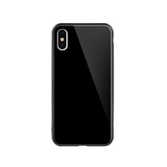 玻璃手机保护壳IX(亮黑色)牛皮盒装-国内版CN