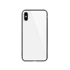 玻璃手机保护壳IX(白色)牛皮盒装-国内版CN