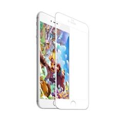 8D全屏覆盖磨砂软边防爆玻璃贴膜I7p/I8p(白色)单片牛皮盒装-国内版CN