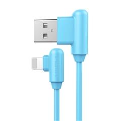 带电青年-Apple Lightning(L头)数据充电线(1000mm)(海心蓝)彩盒装-国内版CN