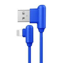 带电青年-Apple Lightning(L头)数据充电线(1000mm)(活力蓝)彩盒装-国内版CN