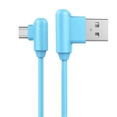 带电青年-USB Type-C(L头)数据充电线(1500mm)(海心蓝)彩盒装-国内版CN