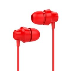 带电青年-入耳式立体声有线耳机A001+(中国红)纸质彩盒装-国内版CN