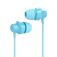 带电青年-入耳式立体声有线耳机A001+(湖水蓝)纸质彩盒装-国内版CN