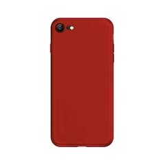 超薄磨砂手机保护壳I7/I8(中国红)牛皮盒装-国内版CN